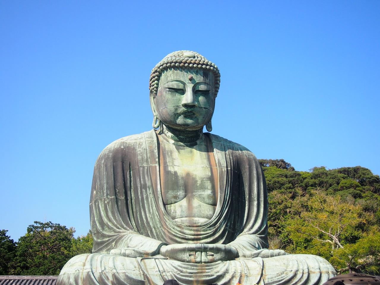 鎌倉大仏全体像,高徳院