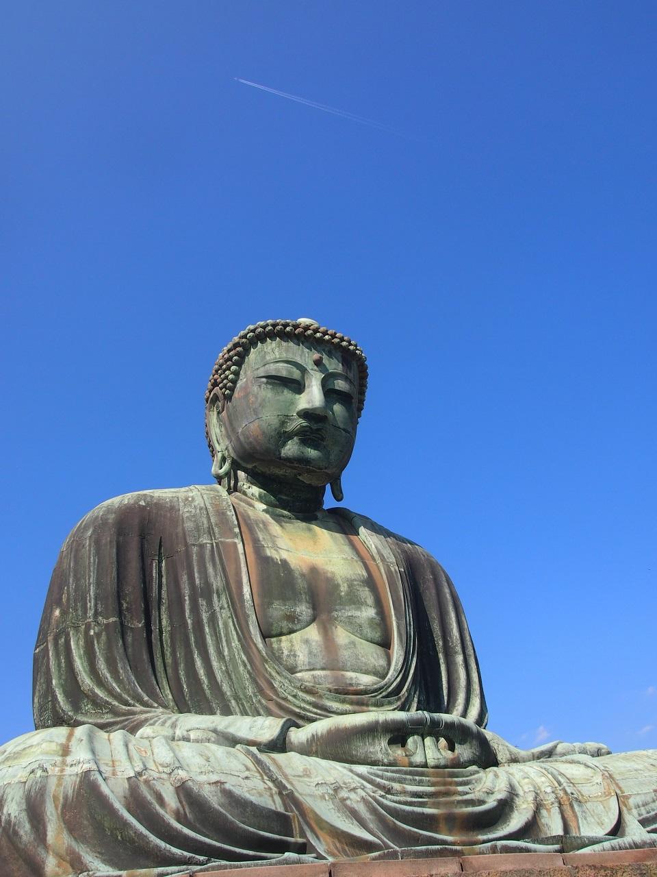 鎌倉大仏 全体像 高徳院