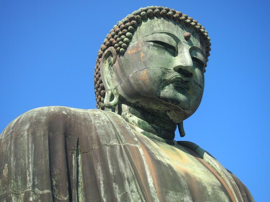 鎌倉大仏のお顔 高徳院