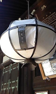 二月堂の大提灯
