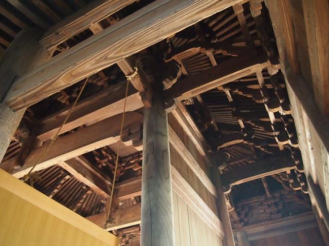 正福寺地蔵堂尾垂木天井