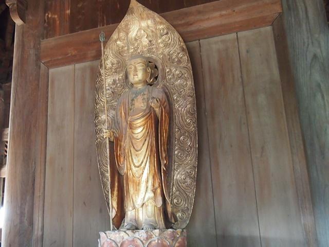 正福寺地蔵堂 本尊木造延命地蔵菩薩立像