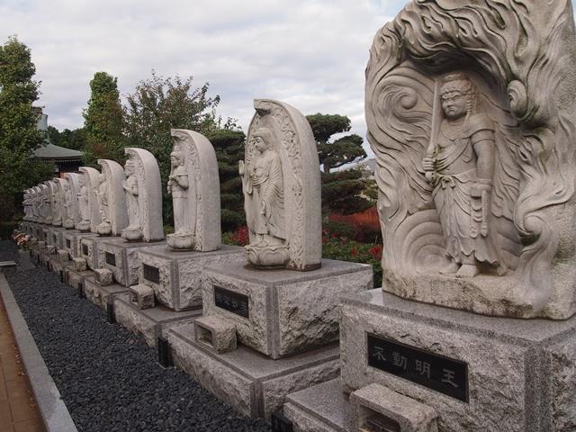 金剛山 正福寺 十三仏信仰 石仏群