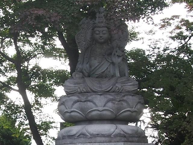 金剛山 正福寺 観世音菩薩 石仏
