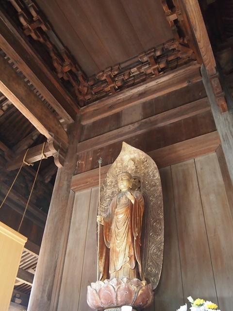 国宝 正福寺地蔵堂 鏡天井