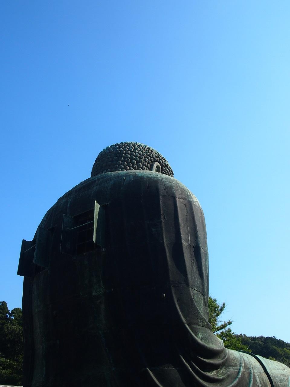 鎌倉大仏 後姿 高徳院
