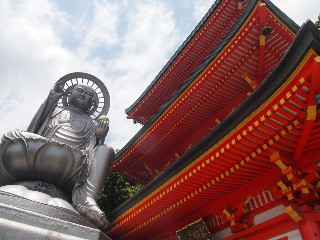 信貴山 日本一大地蔵尊 昼