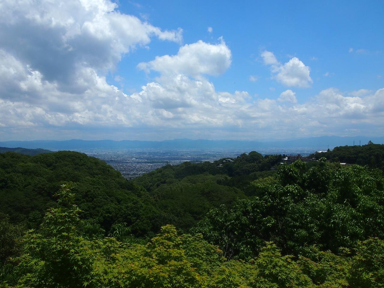 信貴山 朝護孫子寺 舞台からの景色