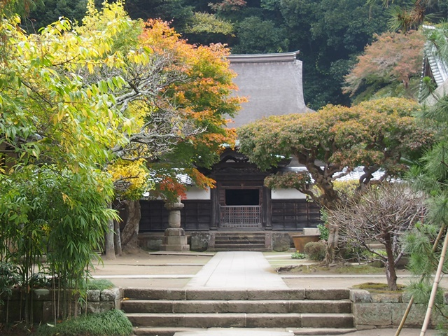 禅宗様建築の遺構 国宝円覚寺舎利殿